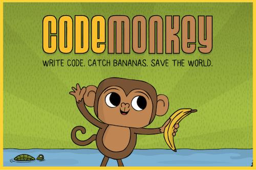 لعبة CodeMonkey
