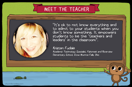meet the teacher blog