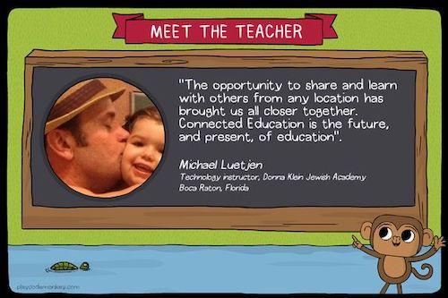 meet the teacher blog