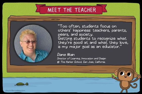 meet the teacher Diane Main
