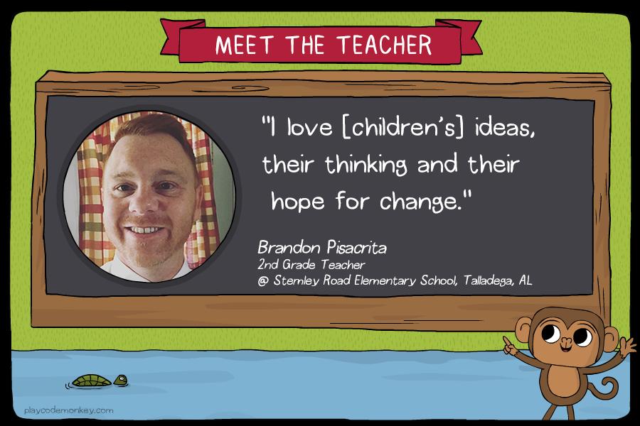 meet the teacher Brandon Pisacrita