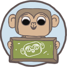 Monkey drew a Monkey