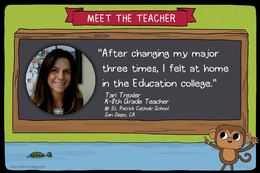 meet the teacher Tari Trexler