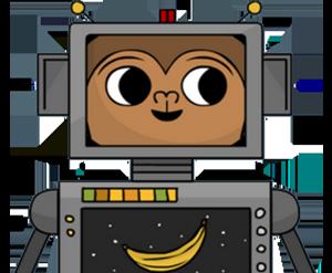 Monkey robot python
