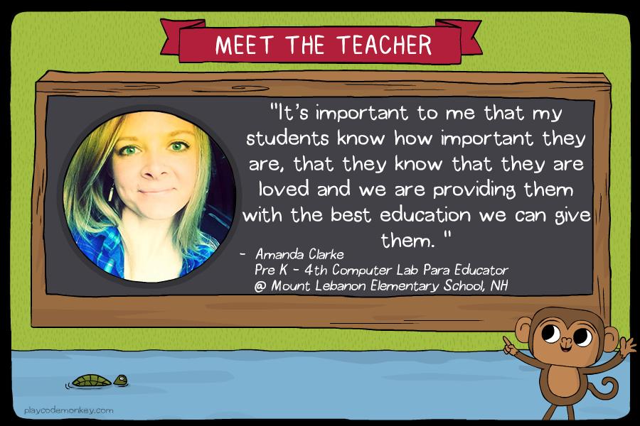 meet the teacher amanda clarke