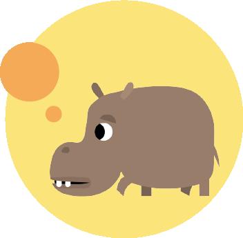 hippo sprite