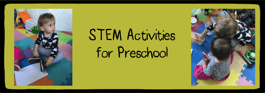 STEM projects for preschoolers