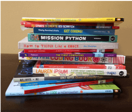 Teaching coding for kids using books