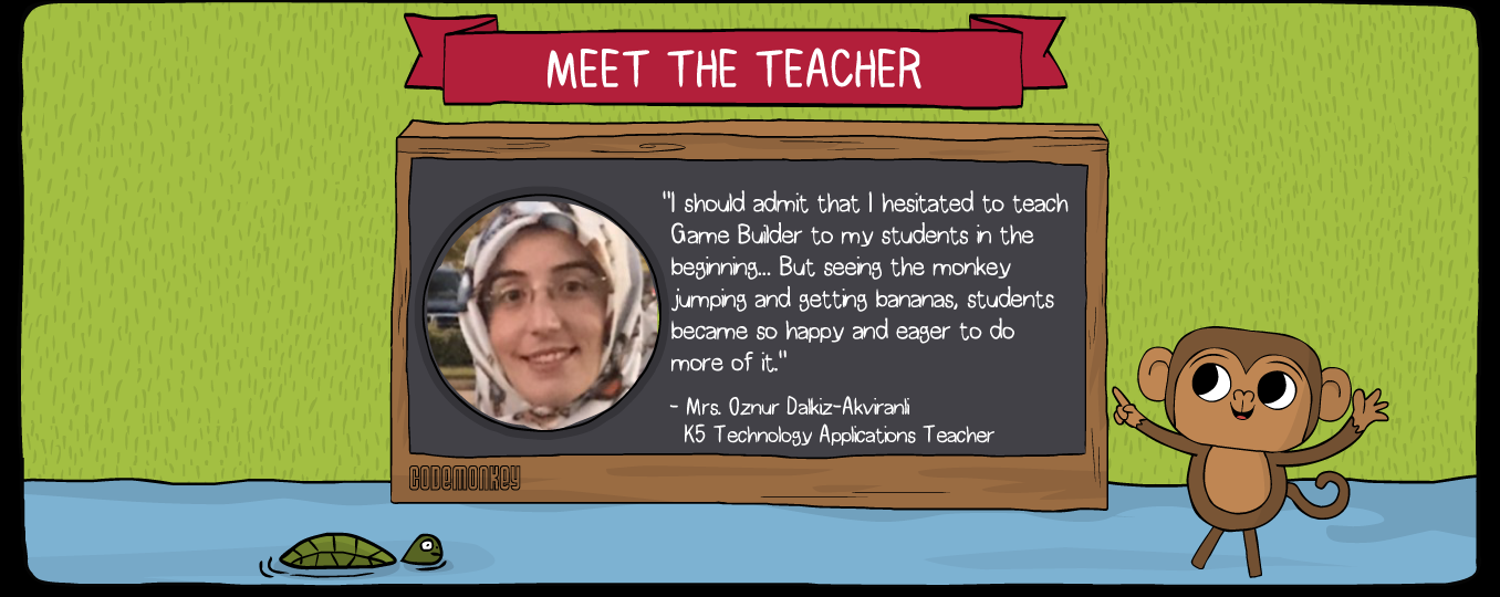 meet the teacher Oznur