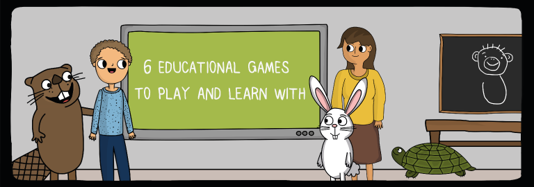 6 educational games to play and learn with