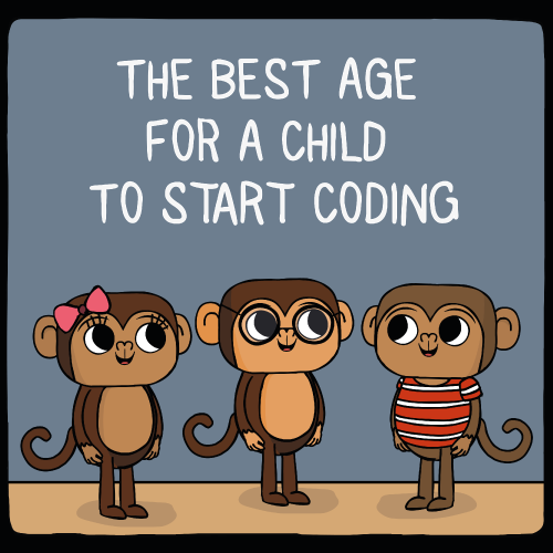 best age for a child to start coding