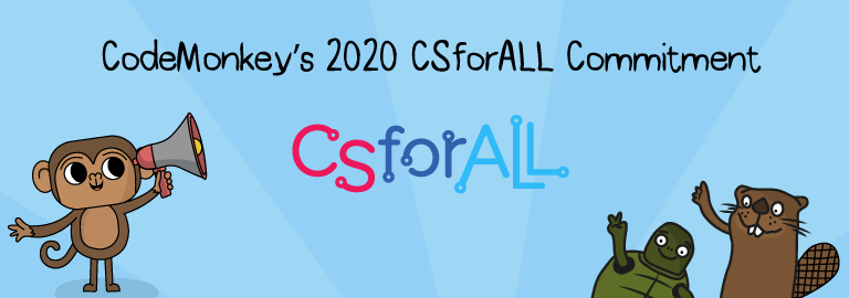 codemonkey's csforall 2020 commitment