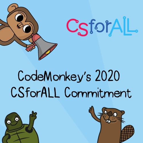 codemonkey's csforall 2020 commitment
