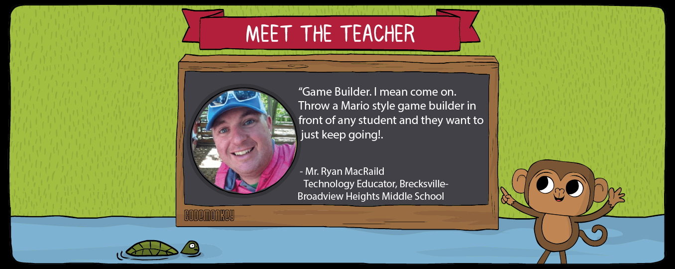 meet the teacher ryan macraild