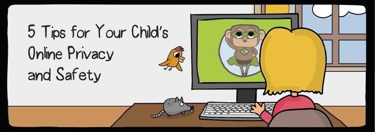 seguridad y privacidad en línea para niños